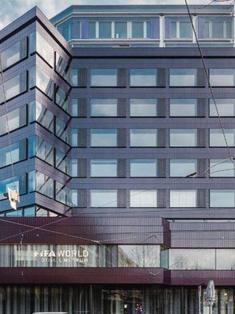 Fassadenelemente für das FIFA Museum