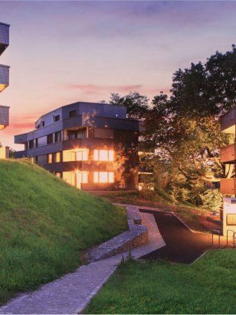 Fassadenelemente für eine Wohnüberbaung in Riehen