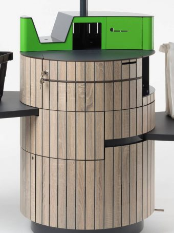 Metallelemente für Kassen-Terminals